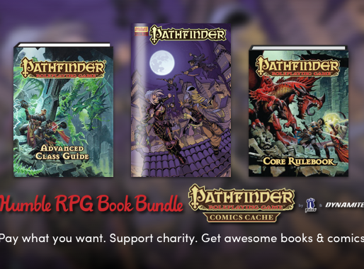 Pathfinder Humble Bundle Available Now
