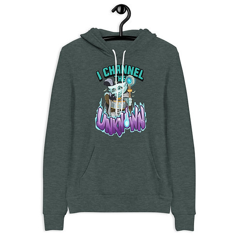 I Channel the Unknown - Light Blue Kobold Hoodie