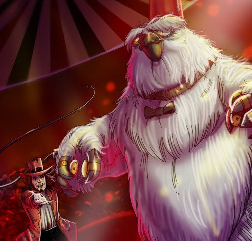 Bobo the Dancing Owlbear