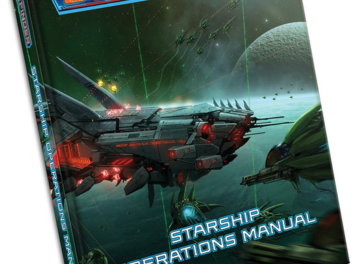 Starfinder Starship Operations Manual Launching July 2020.