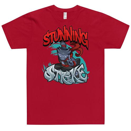 Stunning Strike - Black Kobold Jersey T-Shirt