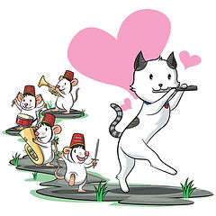 Cat Pied Piper Band
