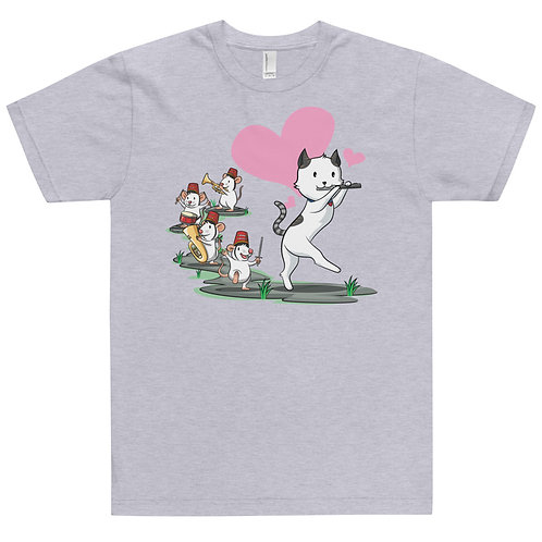 Cat Pied Piper Band Jersey T-Shirt