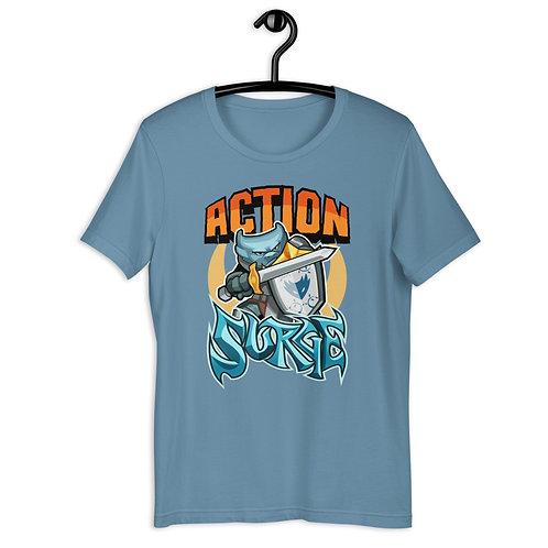 Action Surge - Blue Kobold T-Shirt