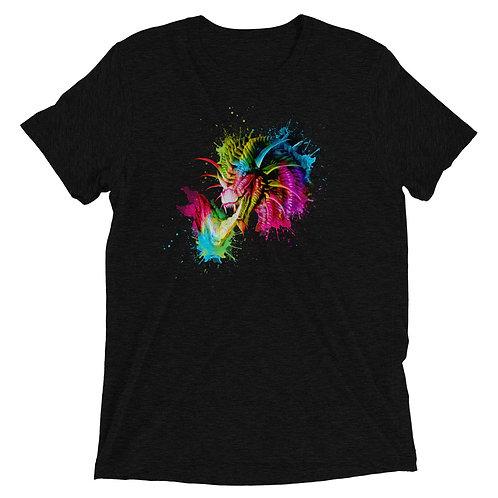 Rainbow Dragon Triblend T-Shirt