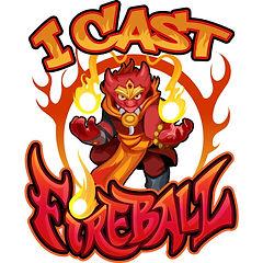 I Cast Fireball - Red Kobold