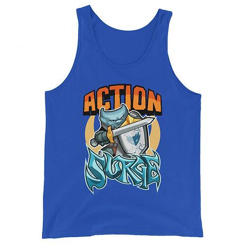 Action Surge - Blue Kobold Tank Top