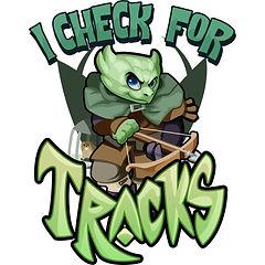 I Check For Tracks - Green Kobold