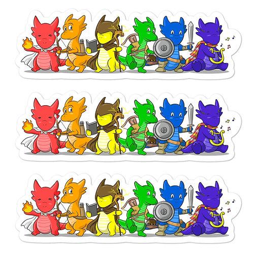 Kobold Rainbow Sticker