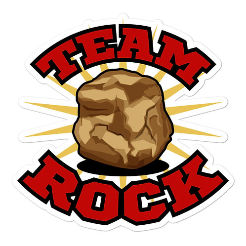 Team Rock Sticker