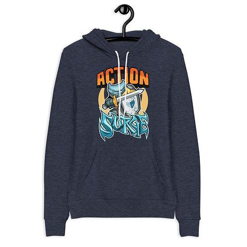 Action Surge - Blue Kobold Hoodie