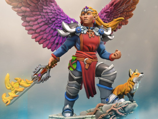 Full Color Hero Forge Custom Mini Kickstarter Coming Jan 14