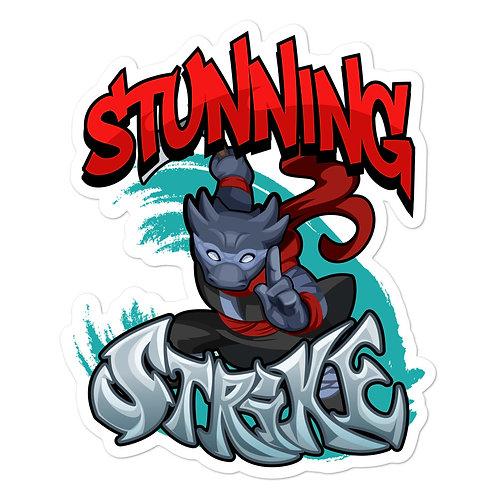 Stunning Strike - Black Kobold Sticker