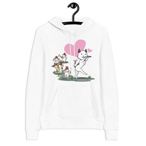Cat Pied Piper Band Hoodie