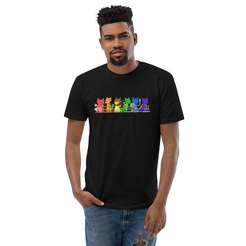 Kobold Rainbow Men's Fitted T-Shirt