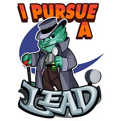 I Pursue a Lead - Teal Kobold