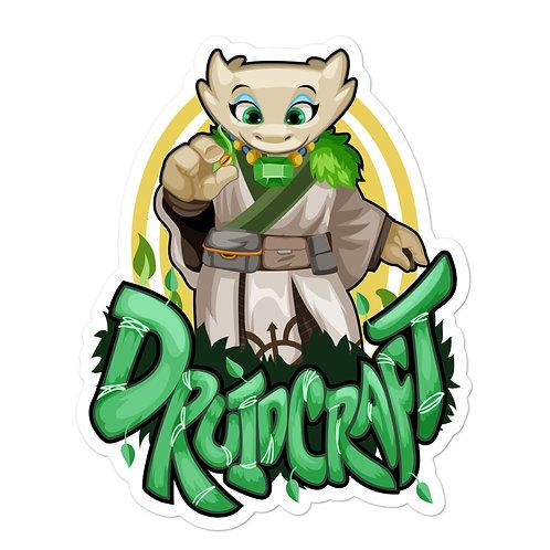 Druidcraft - White Kobold Sticker