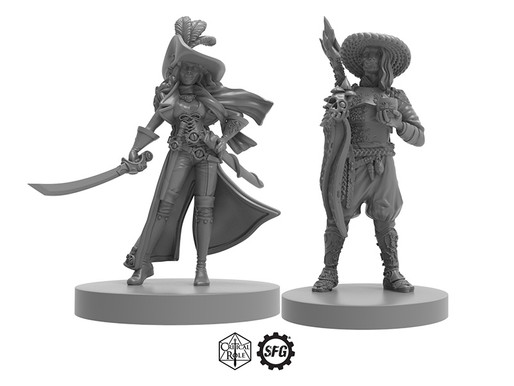 Critical Role minis return to Steamforged Games Store