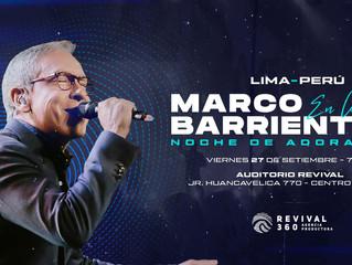 ¡Marcos Barrientos en Lima!
