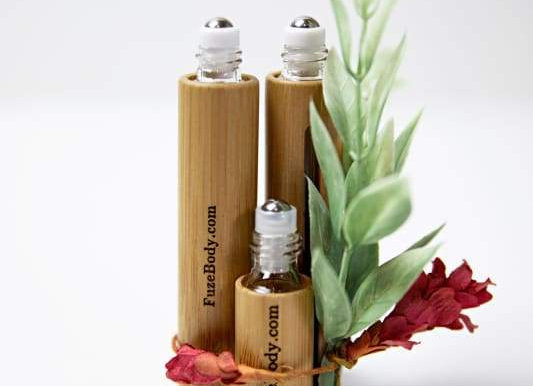 Lavender - Wood Roll-On Pure Essential Oils