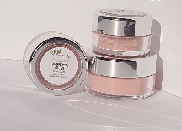 Sweet Pink Natural Blush Pigment | Raw Beauty Minerals