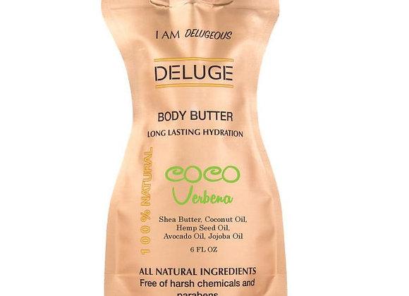 Natural Body Butter - Coco Verbena