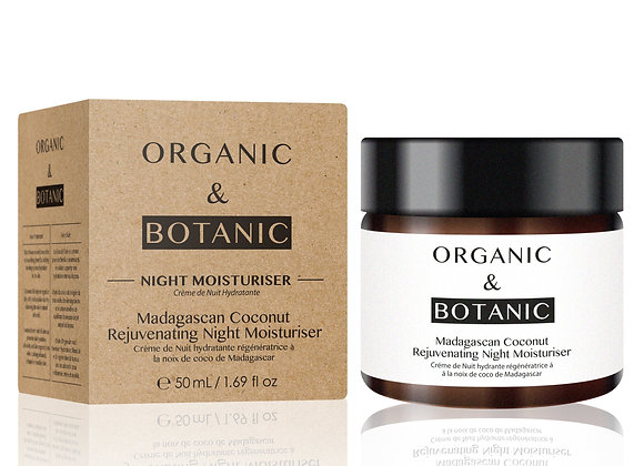 Madagascan Coconut Rejuvenating Night Moisturiser