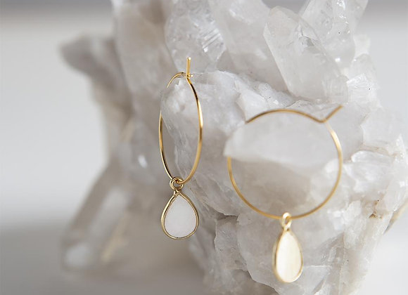 Berklee Earrings - Pearl