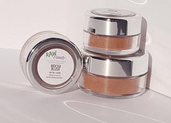 Mocha Natural Blush Pigment | Raw Beauty Minerals