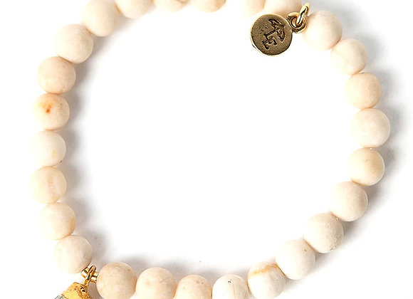 Bella Bracelet - Moonstone Nugget