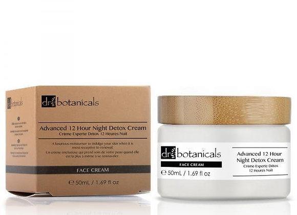 Advanced 12-Hour Night Detox Cream 50ml