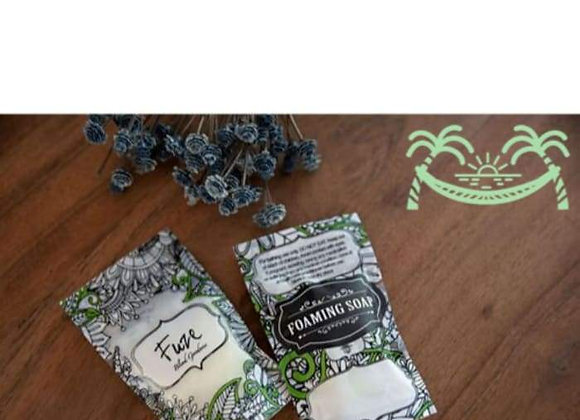 """Foaming Essential Oil Hand Soap Refill Packet - Calm """"Just Chill"""""""