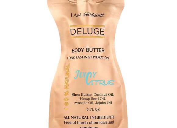 Natural Body Butter Juicy Citrus