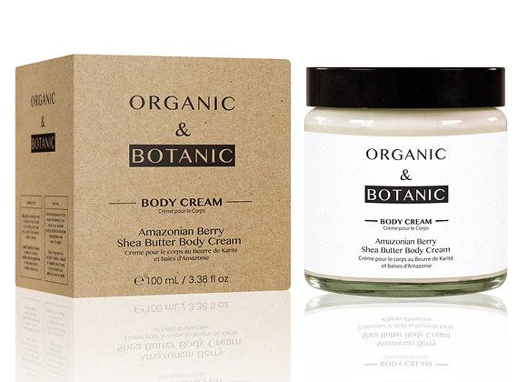 Amazonian Berry Shea Butter Body Cream