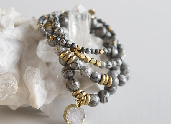 Picture Jasper Gemstone Bracelets