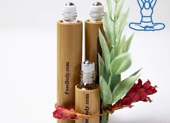 Focus - Wood Roll-On Pure Essential Oils