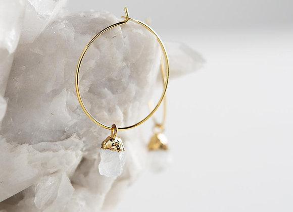 Bella Earrings - Moonstone