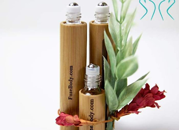 Protect: Sanitizing Blend 100% Pure Essential Oils and Alcohol - Wood Roll-On