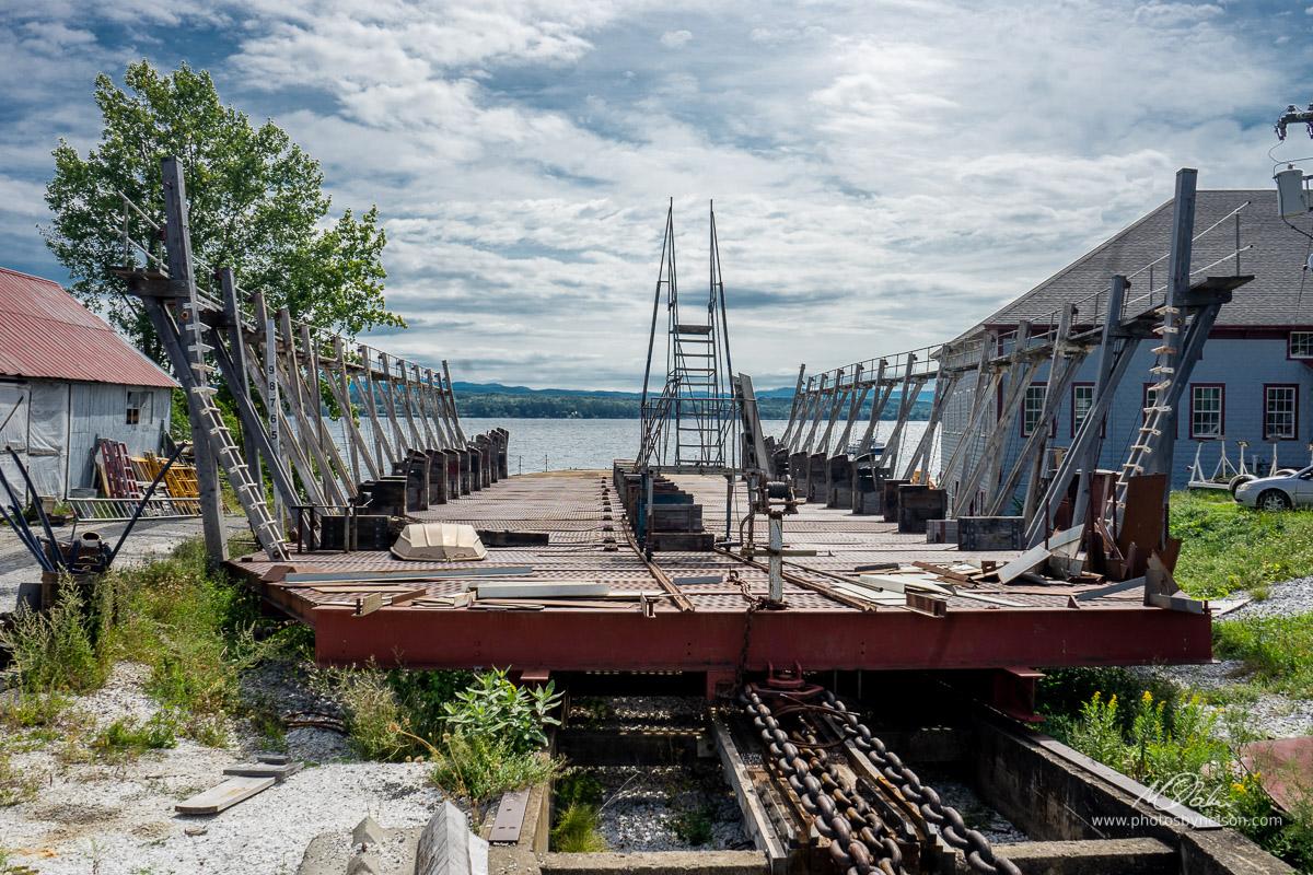 Lake Champlain Ship Ramp