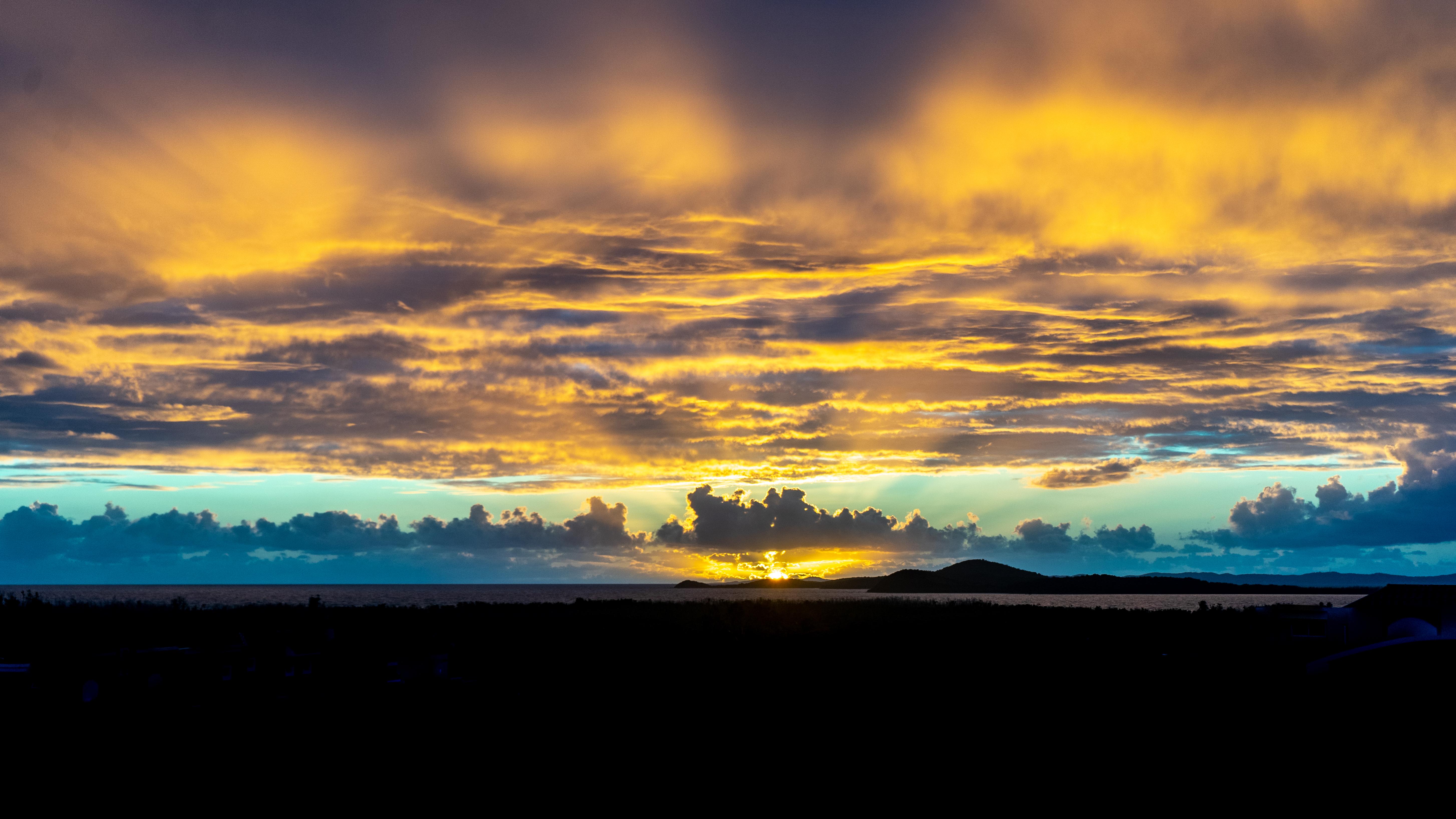 Sunrise over Culebra
