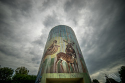 Decorated Silo