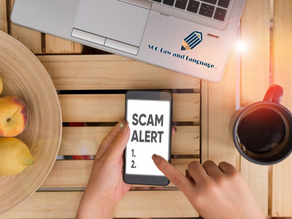 BEWARE OF CYBER SCAMS!