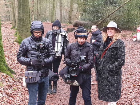 Docu Crew in the Netherlands, Giancarlo Bellotti, Dudu Levy, Analise Franco, Camila Appel
