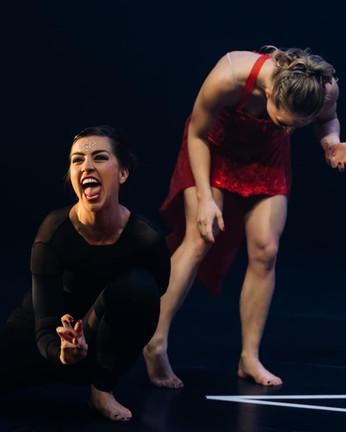 Maria Kuchowicz & Zahira Mous in Reclaiming the Goddess