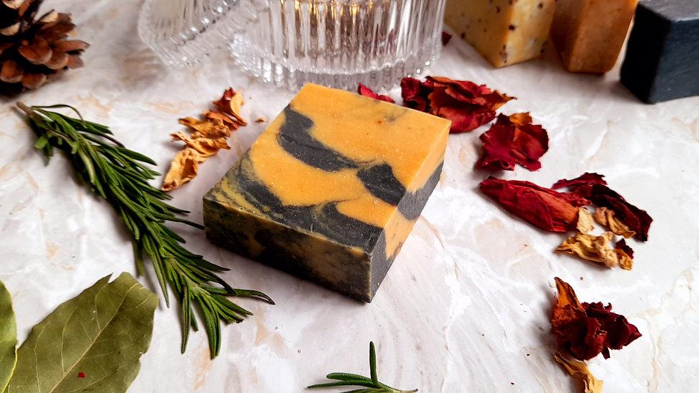 Papaya  fragrance free Soap Bar 120g