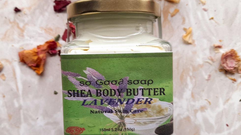 SHEA BUTTER CREAM  LAVENDER 150g
