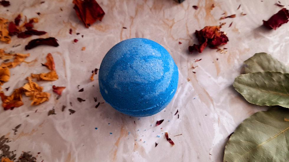 Uranus Bubble Bath Bomb Lemon & Lavender 150g