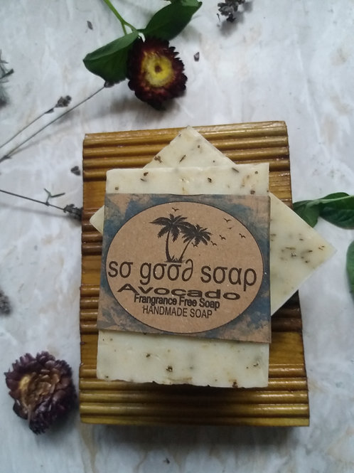 Handmade Avocado Soap Bar 120g
