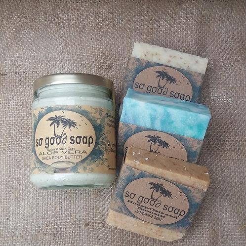 Natural Skincare Gift Box Eczema & Acne Relief