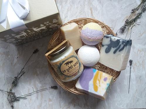 Natural Skincare Gift Box  Pamper Vegan